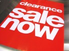 Clearance Sale Now On at John Lewis