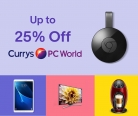 Get Up to 25% OFF Apple, Google, Sony and More at Currys eBay