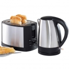 Daewoo Stainless Steel Cordless 1.7L Kettle and 2-Slice Toaster Set £29.99 at Robert Dyas