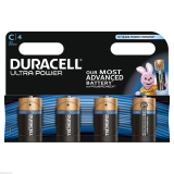 4 x Duracell Ultra Power C Type £6.60 at eBay