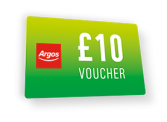 It's Back! Free £5 Voucher When You Spend £50 and £10 When You Spend £100 at Argos