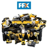 DEWALT DCKFFX10AP4 18v 4 X 5.0ah XR Li-ion 10pc T-stak Kit £1,219 with Code at FFX eBay