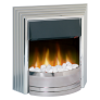 Dimplex CST20 Castillo Optiflame Freestanding Electric Fire in Chrome £169.99 @ Co-op Electrical