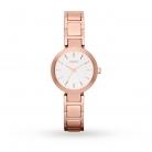 DKNY Ladies Rose Gold Steel Bracelet Watch NY2400 £60 at Goldsmiths