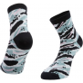 Ratio Jungle 10cm Sock (Turquoise) £4.00 at Chain Reaction Cycles