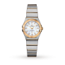 Omega Constellation Ladies 18ct Gold and Steel Watch £2,140 @ Goldsmiths