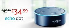 Amazon Echo Dot 2nd Gen Smart Speaker with Alexa Now £34.99 @ Amazon