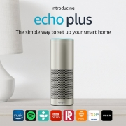 Now Live: Amazon Echo Plus £109.99 and Amazon Kindle Paperwhite £79.99 at Amazon