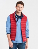 LIGHTWEIGHT DOWN GILET IN CLASSIC RED   £37.00 at Crew Clothing