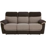 Mendez 3 Seater Manual Recliner Sofa   £379.99 at Bargain Crazy