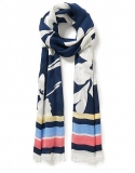 CREW TROPICAL SCARF    £15.00 at Crew Clothing