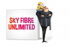 Sky Fibre Unlimited Broadband + Line Rental & Sky Talk £38.99 p/m for 18 Months + £50 Prepaid MasterCard + £59.95 One Off Set-up Fee at Sky