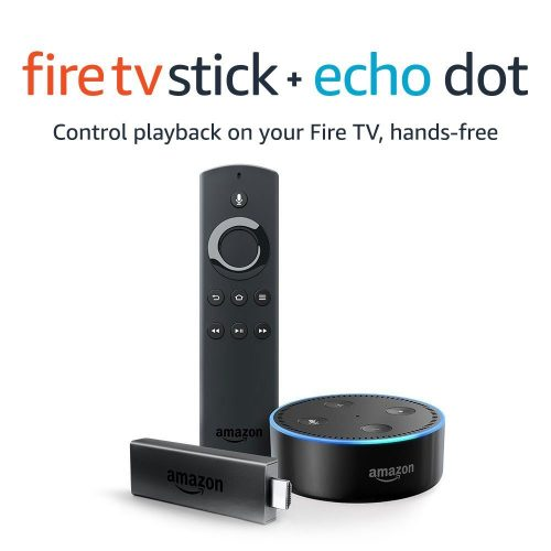 Fire TV Stick with Alexa Voice Remote + Echo Dot £69 98 at