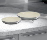 Morphy Richards Accents 2-Piece Frying Pan Set in Titanium £24.99 at Very