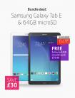 Samsung Galaxy Tab E Tablet + FREE 64GB microSD £149 at BT Shop