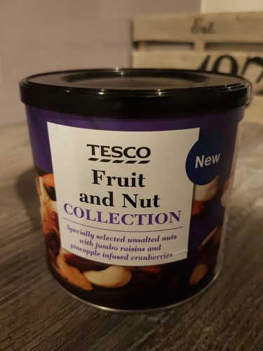 Tesco Fruit and Nut Collection 320g Reduced to ONLY £1 at