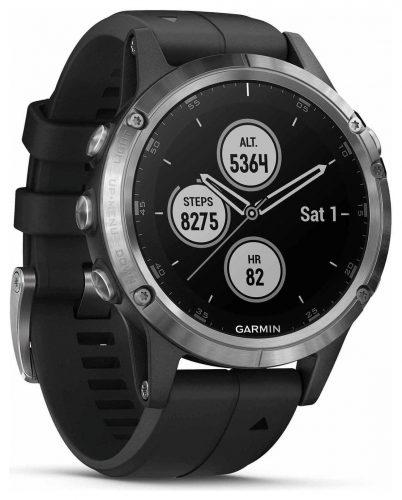 Garmin Fenix 5 Plus Gps Smart Watch Silver Black 499 99 Argos