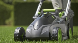 Get £50 Off Gtech Cordless Lawnmower + FREE Grass Trimmer Worth £99.99 + Garden Safety Kit Worth £14.99 + FREE Shipping with Code at Gtech