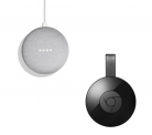 GOOGLE Home Mini & Google Chromecast Bundle – Chalk £49 at Currys