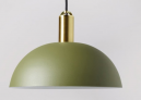 Alma Pendant, Brass & Green  £59 at Swoon Editions