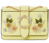Dune Devi Small Embroidered Flowers Cross Body Bag, Yellow     £52.00 at John Lewis & Partners