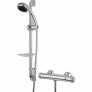 Wickes Tormelli Surface Mounted Thermostatic Mixer Shower Kit – Chrome   £50.00 at Wickes