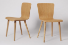 Cherry Dining Chair, Set Of Two, Oak  £224 at Swoon Editions