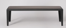 Laurel Bench, Black Lava Stone  £299  at Swoon Editions