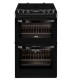 Zanussi ZCV46330BA Electric Double Oven with 109L Capacity in Black £398.90  at Hughes