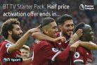 Half Price Activation on BT TV Starter + BT Sport – Ending Soon