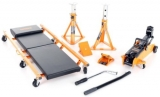 Halfords 5 Piece Lifting Kit Vehicle Car Van Trolley Jack Axle Stands Lifter Set £45 (was £80) at Halfords eBay