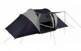 Halfords Vis a Vis 4 Man Person Tent Tunnel Double Skin Living Space 3 ONLY £42.50 at eBay