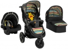 Hauck Disney Baby Viper Trio Set, from Birth Travel System (Car Seat, Carry Cot and Raincover, 3 Wheel, Pooh Tidy Time) £206.99 at Amazon