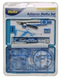 Helix Achiever Maths Set Maths Equipment For School With Handy Plastic Case £11.39 at WHSmith eBay