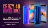 Honor Crazy 48hr Sale Now On – BIG SAVINGS, DON'T MISS OUT!