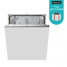 Hotpoint LTB4B019 Fully Integrated Dishwasher + Free Gift + Free Delivery & Recycling £199.99 at Hotpoint eBay Store
