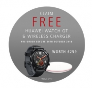 FREE Huawei Watch GT + Wireless Charger (worth £259) with Huawei Mate20 Pro Orders @ Huawei