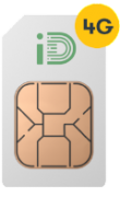 2.25GB 4GB Data Rollover, 250 Minutes, 5000 Texts, Only £5 per Month SIMO iD Mobile