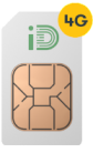 £20 for 30GB Data, Unlimited Mins & Texts SIM 30 Day Rolling Contract at iD Mobile