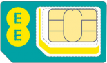 SIM Card Triple SIM on 4GEE Wifi 5GB £12.00 pm @ EE