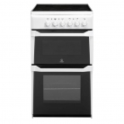 Indesit IT50CWS 50cm Twin Cavity Ceramic Cooker in White £279 at Co-op Electrical