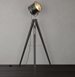 Jules Wood Marine Head Floor Lamp, Grey   £156.00  at John Lewis & Partners