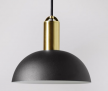 Alma Pendant, Brass & Black  £44  at Swoon Editions