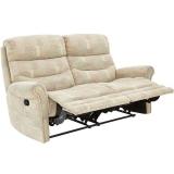 Salone 2 Seater Manual Recliner Sofa   £329.99   at Bargain Crazy