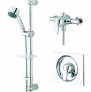 Wickes Rhine Thermostatic Mixer Shower & Adjustable Riser Kit   £50.00 at Wickes