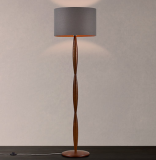 Edie Spindle Wooden Floor Lamp, Brown   £184.00   at John Lewis & Partners