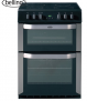 Belling FSE60DOPSS Electric Double Oven with Ceramic Hob in Stainless Steel  £349.90 @ Hughes