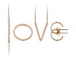 Gold Plated Cubic Zirconia LOVE Set with FREE Gift Bag    £39.00 at Littlewoods