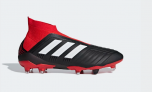 Adidas PREDATOR 18+ FIRM GROUND Boots, Black/Red   £174.96 at Adidas