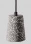 Rodrigo Pendant, Grey Terrazzo  £37 Swoon Editions